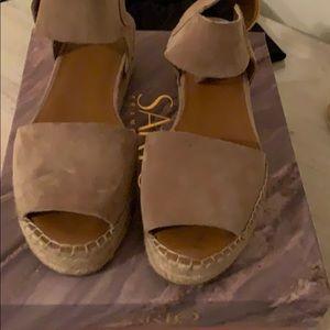 Franco Sarto oak sandals size 8.5